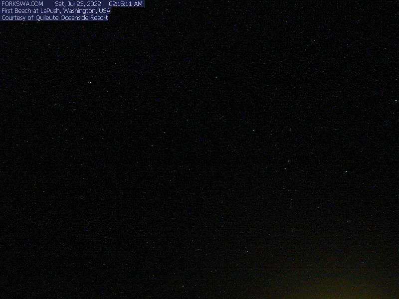 La Push First Beach Webcam - Forks, WA